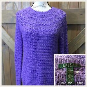 Ralph Lauren Lavender Sweater Clean and Unworn 💕